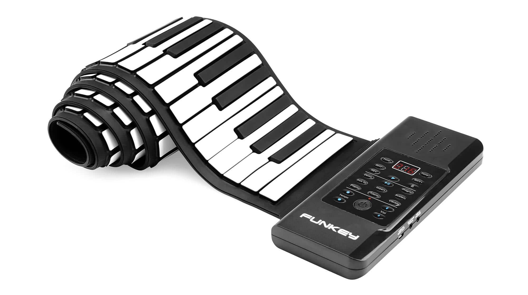 FunKey RP-88A Rollpiano mit MIDI inkl. Sustainpedal