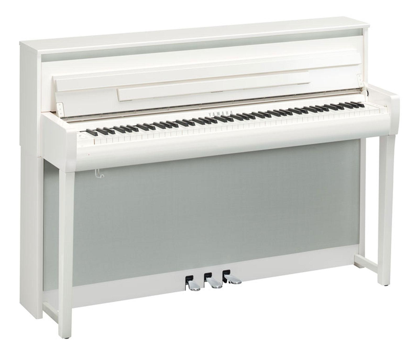 yamaha clp 685 pwh digitalpiano wei hochglanz. Black Bedroom Furniture Sets. Home Design Ideas