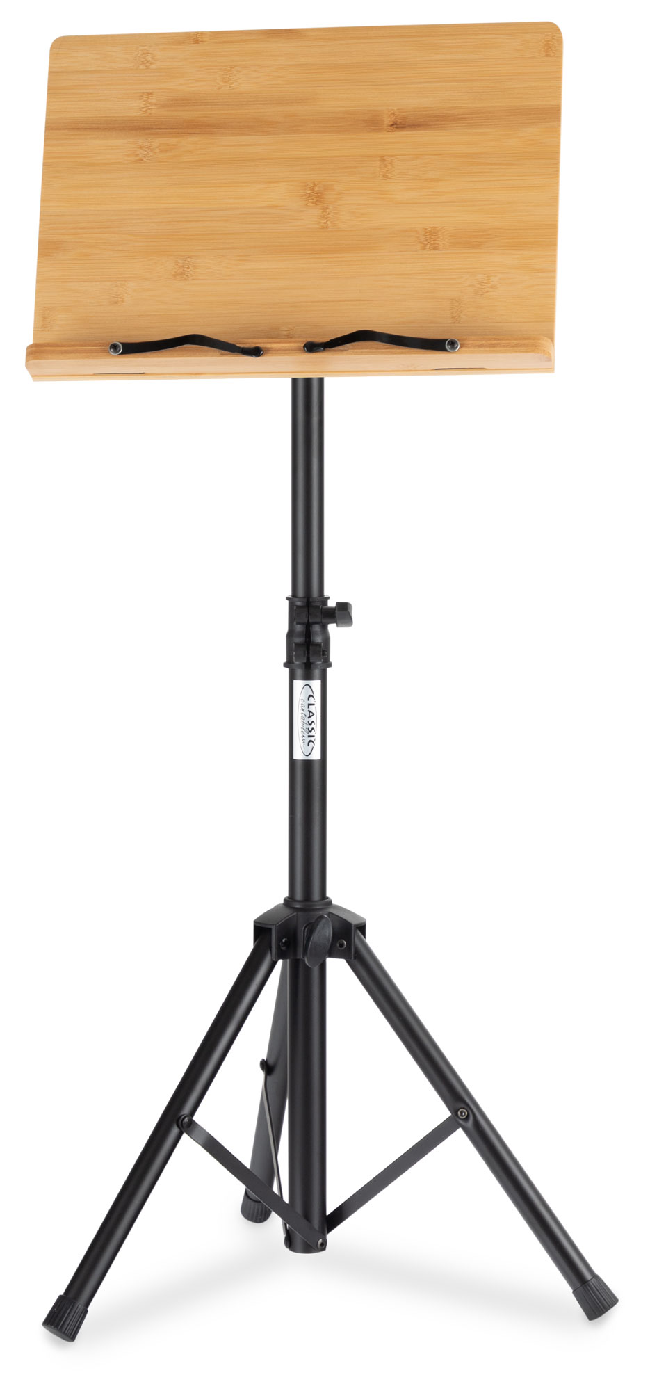 Musikerzubehoer - Classic Cantabile OSW 125 Notenpult Bambus - Onlineshop Musikhaus Kirstein