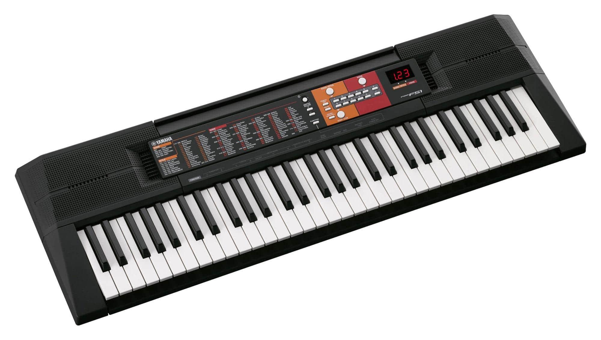 Homekeyboards - Yamaha PSR F51 Keyboard - Onlineshop Musikhaus Kirstein