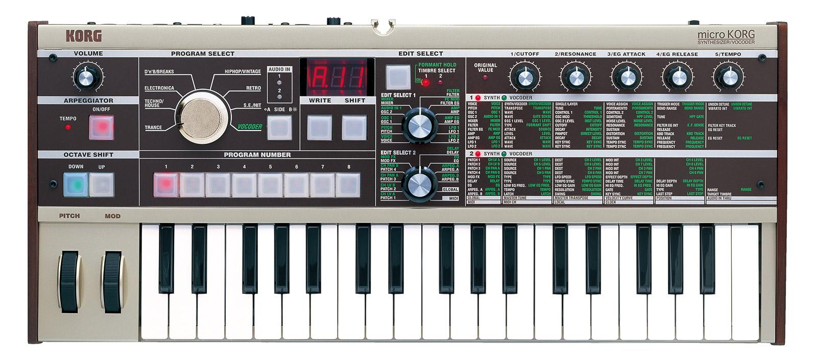Synthesizer - Korg microKORG - Onlineshop Musikhaus Kirstein