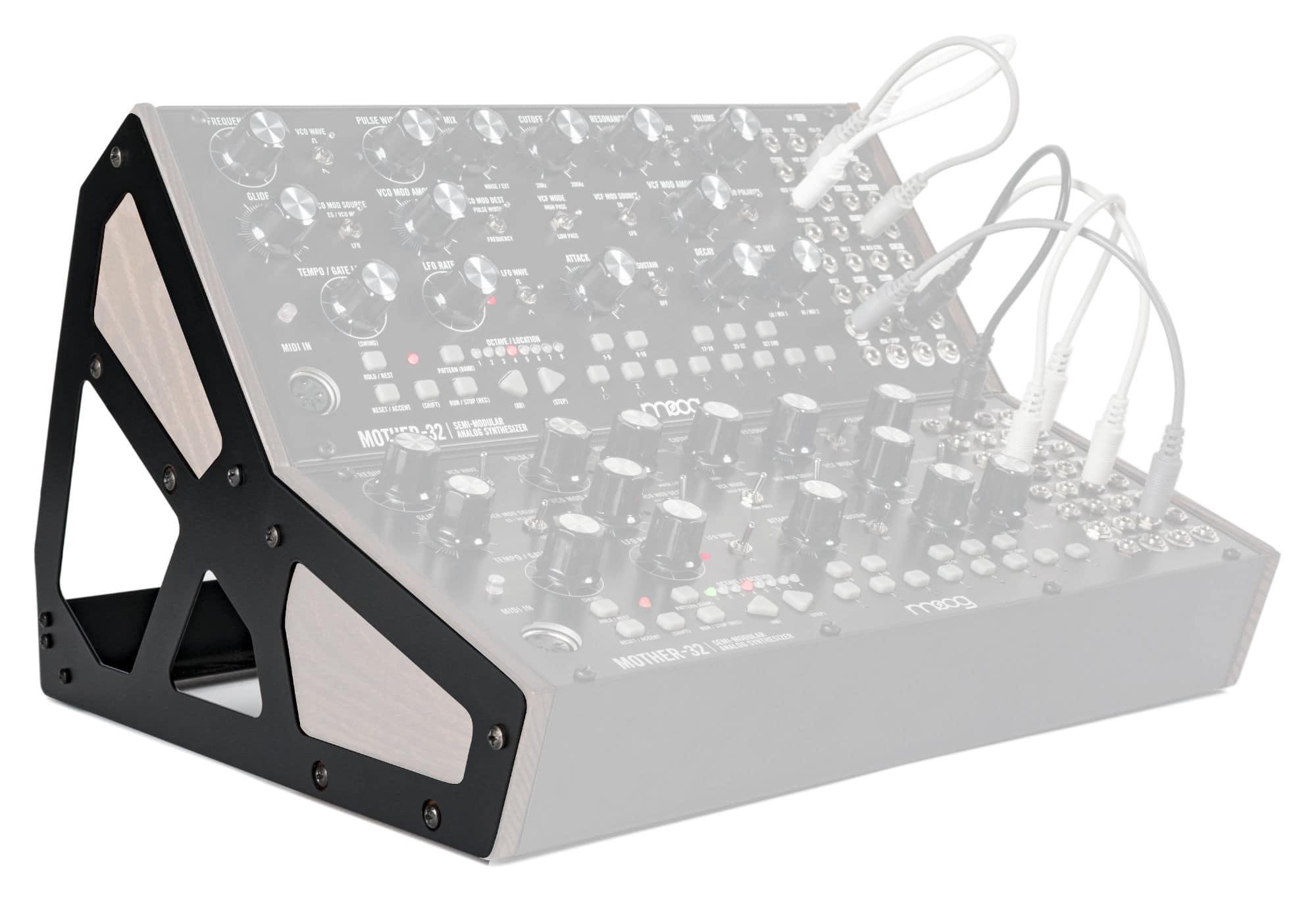 Zubehoerkeyboards - Moog Mother Two Tier Rack Stand - Onlineshop Musikhaus Kirstein
