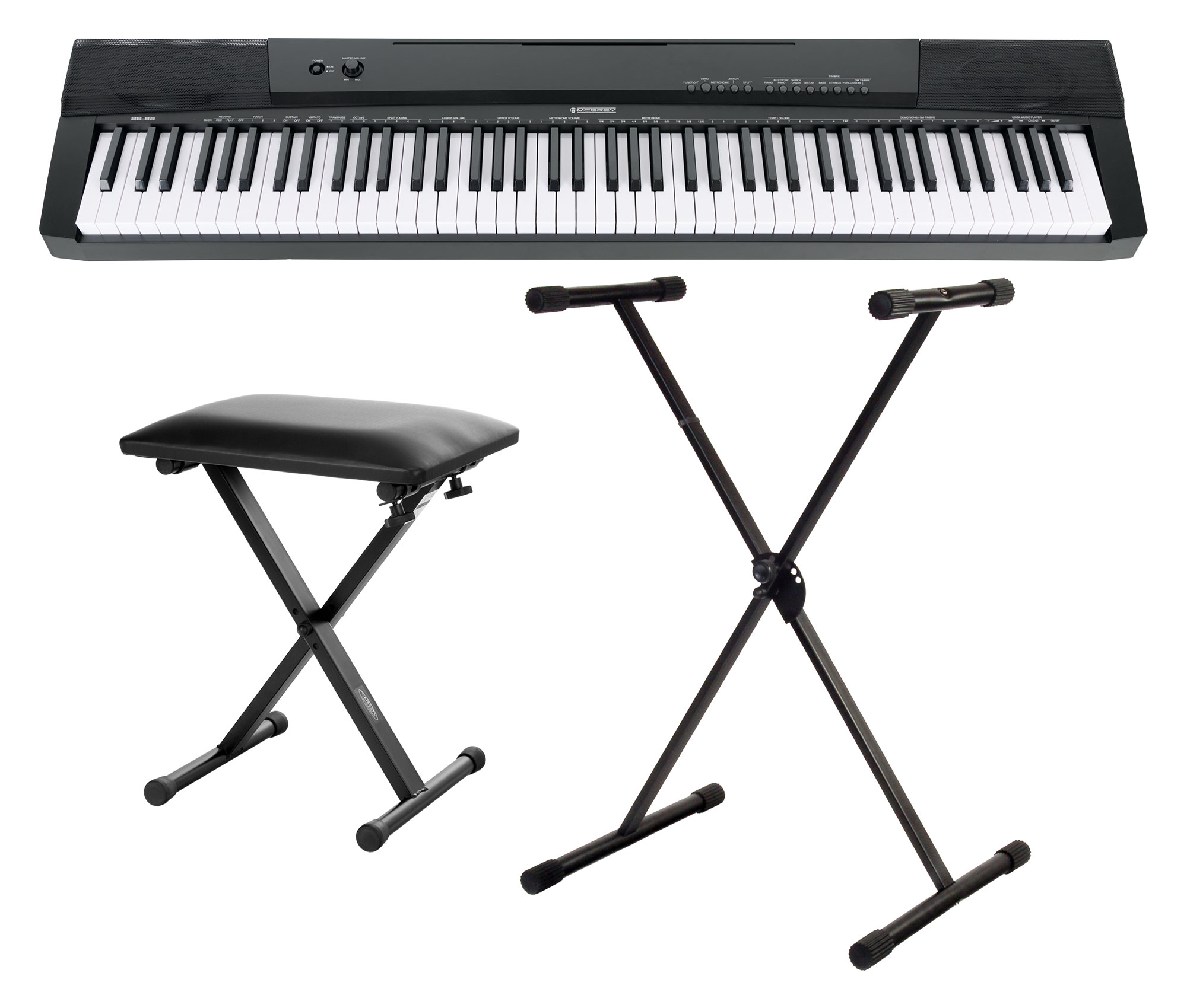 Homekeyboards - McGrey BS 88 Keyboard Set - Onlineshop Musikhaus Kirstein
