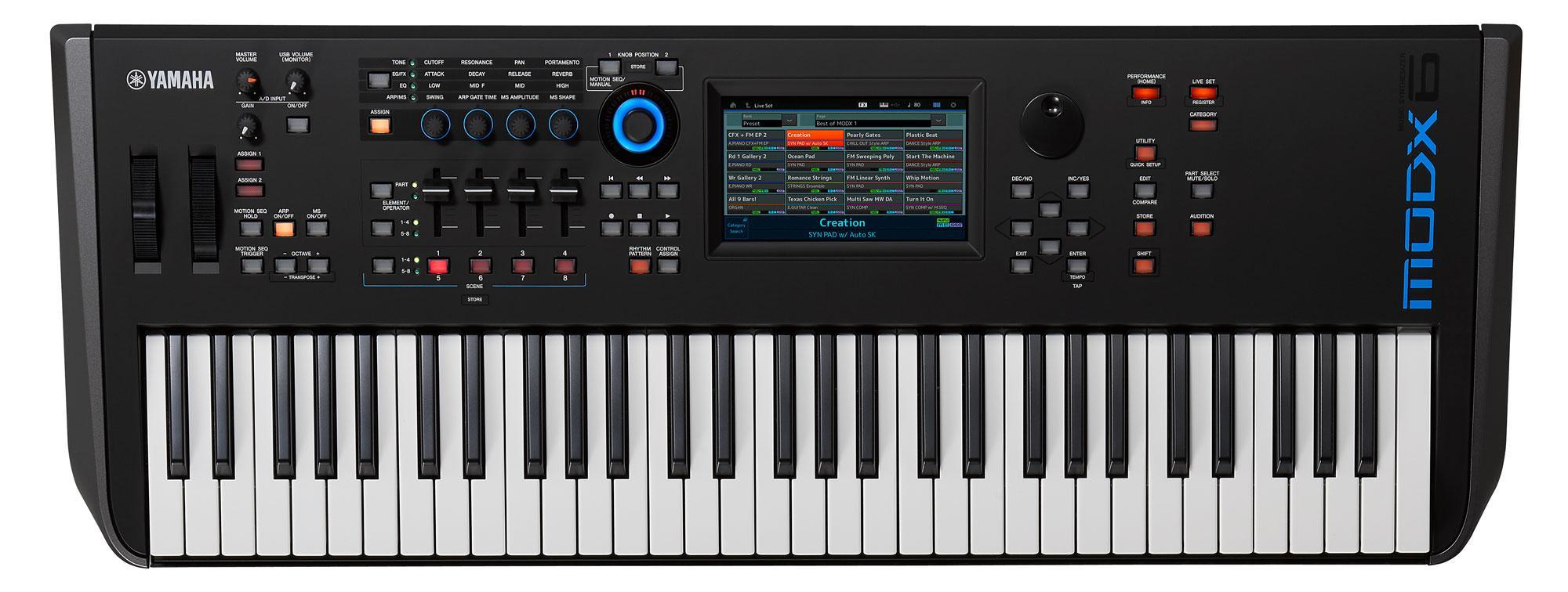 Synthesizer - Yamaha MODX6 Synthesizer - Onlineshop Musikhaus Kirstein