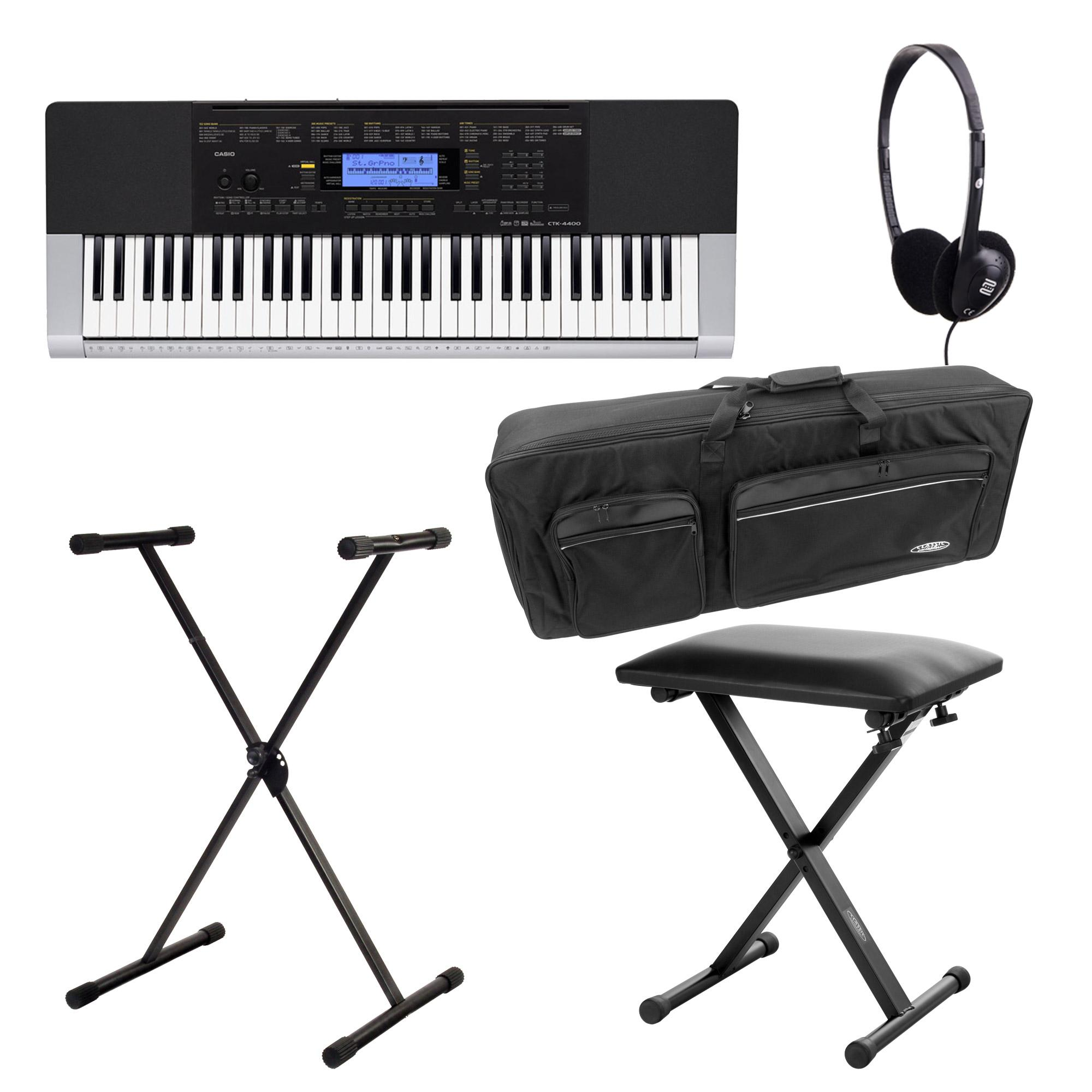 Casio CTK 4400 Keyboard Deluxe SET