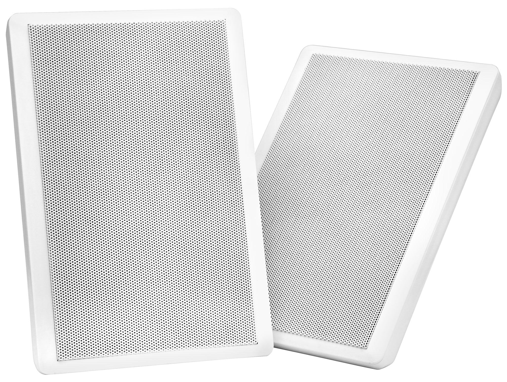 Pronomic Fls 540 Wh Pair Of Flat Panel Wall Speakers