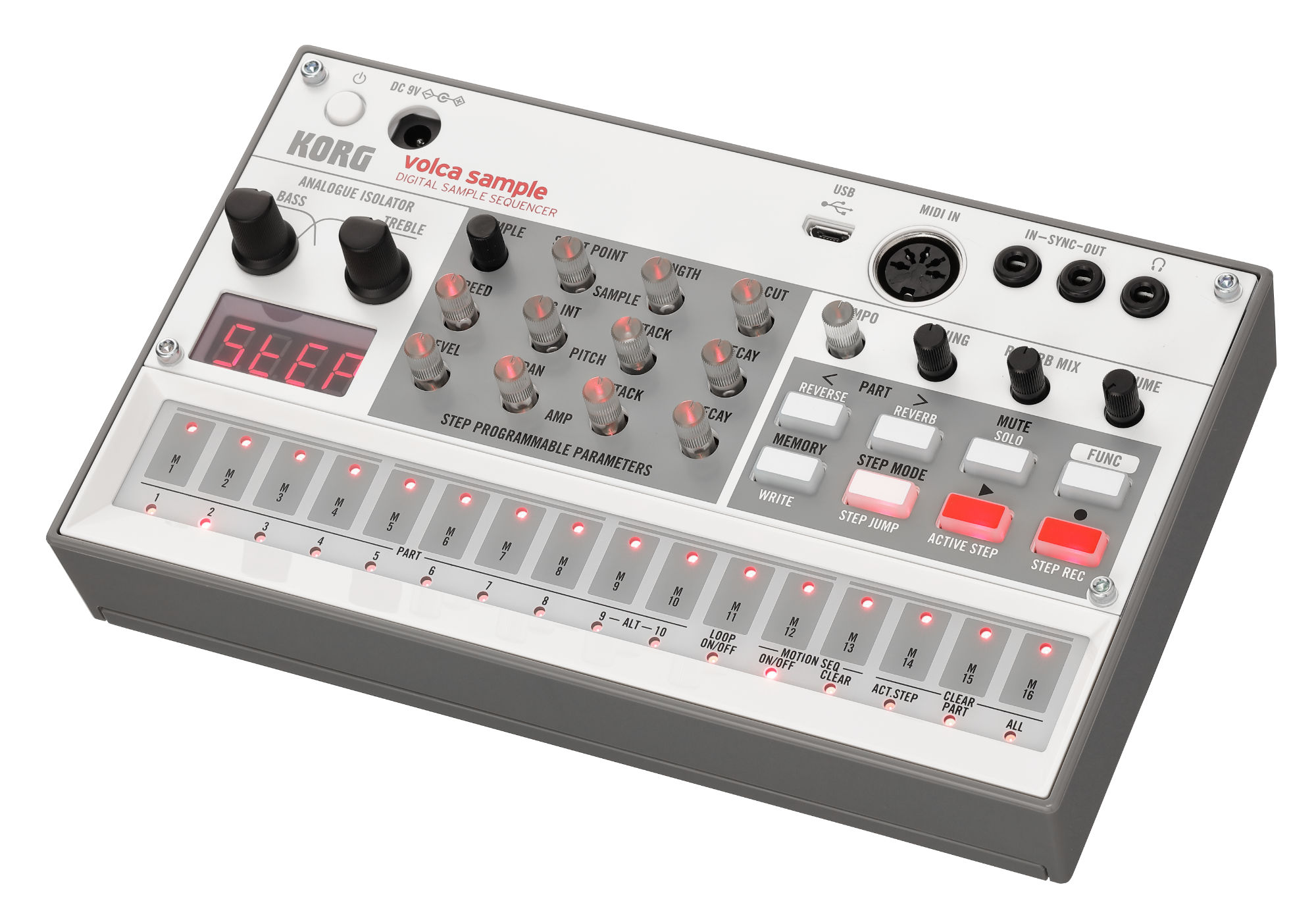 Synthesizer - Korg Volca Sample 2 - Onlineshop Musikhaus Kirstein