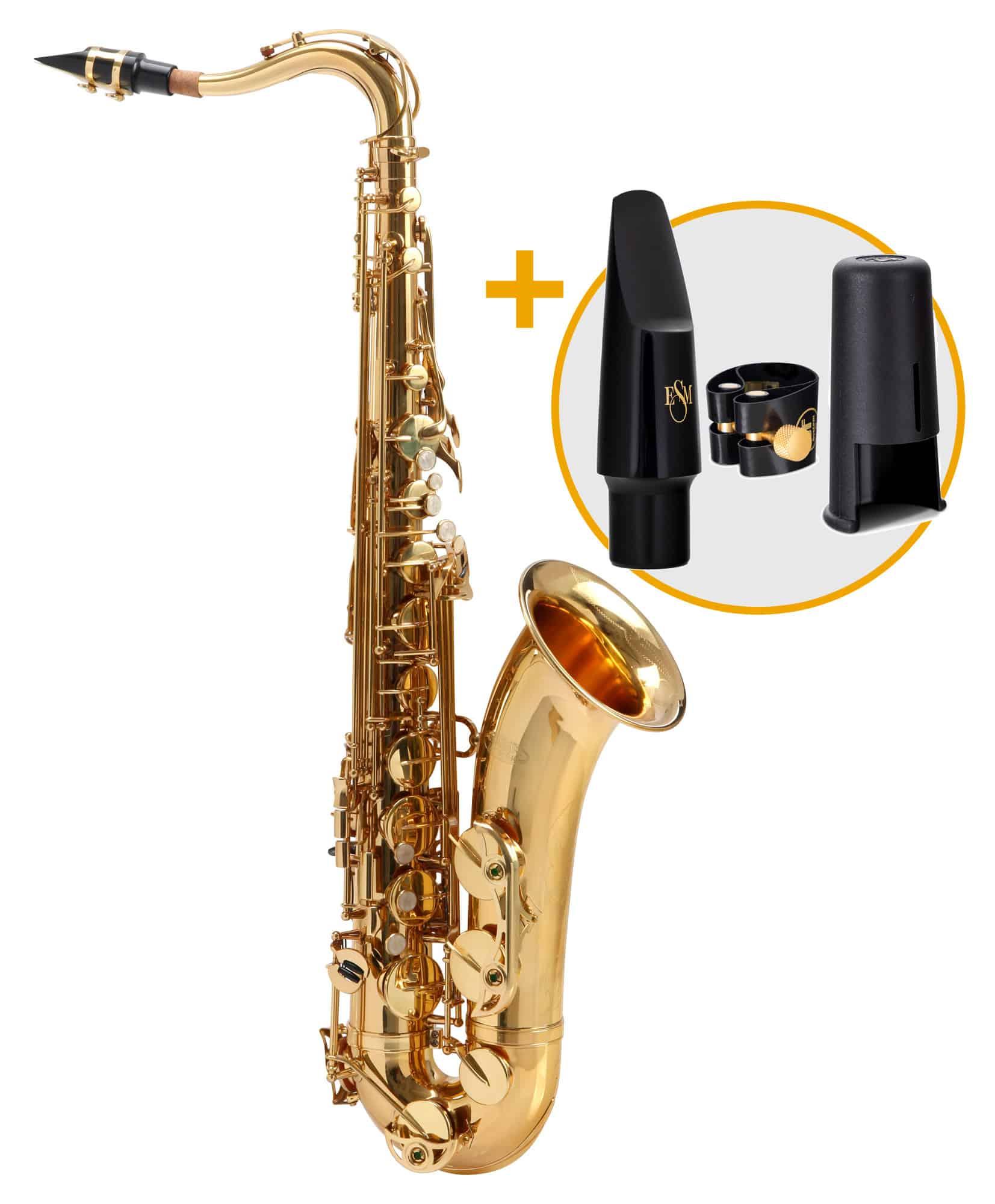 Saxophone - Classic Cantabile TS 450 Bb Tenorsaxophon ESM Set - Onlineshop Musikhaus Kirstein