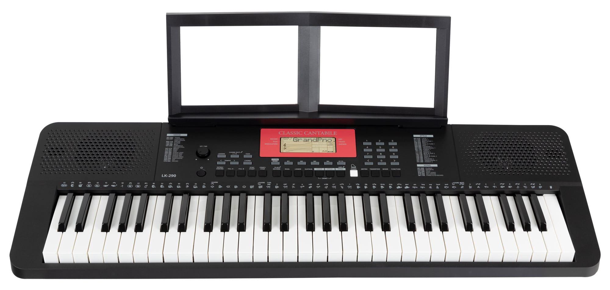 Homekeyboards - Classic Cantabile LK 290 Leuchttasten Keyboard - Onlineshop Musikhaus Kirstein