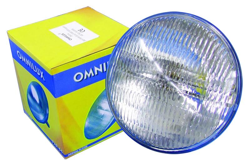 Omnilux PAR 64 240V 500W MFL Halogen