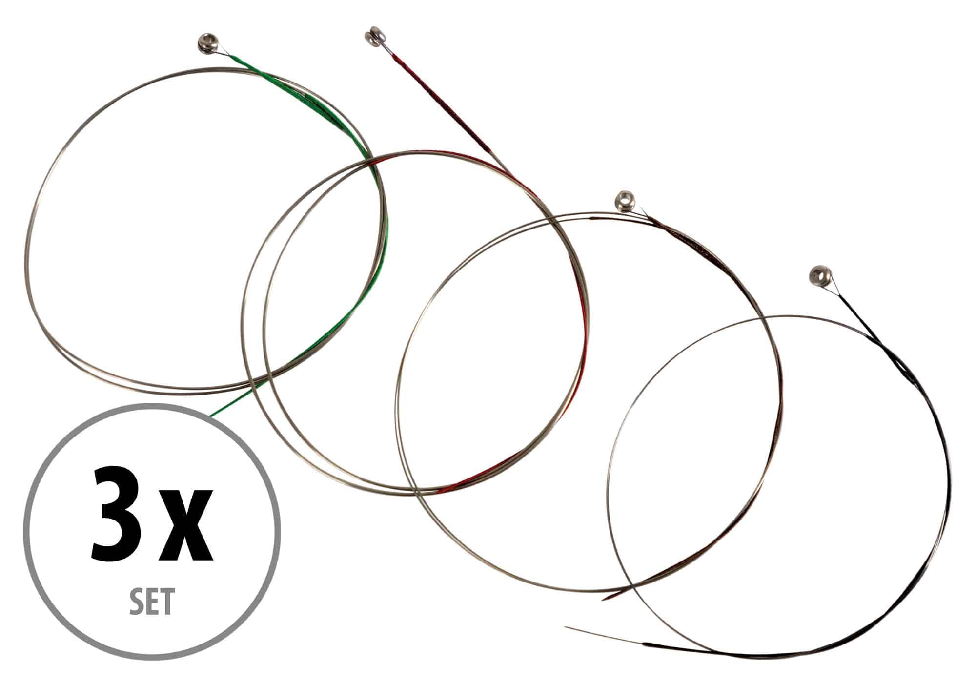 Classic Cantabile VL 34 Violinensaiten Satz 3|4 Set 3x