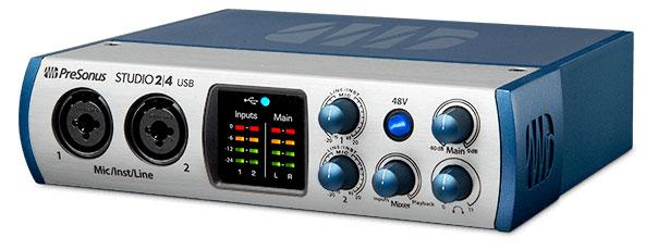 PreSonus Studio 24 USB Audio Interface
