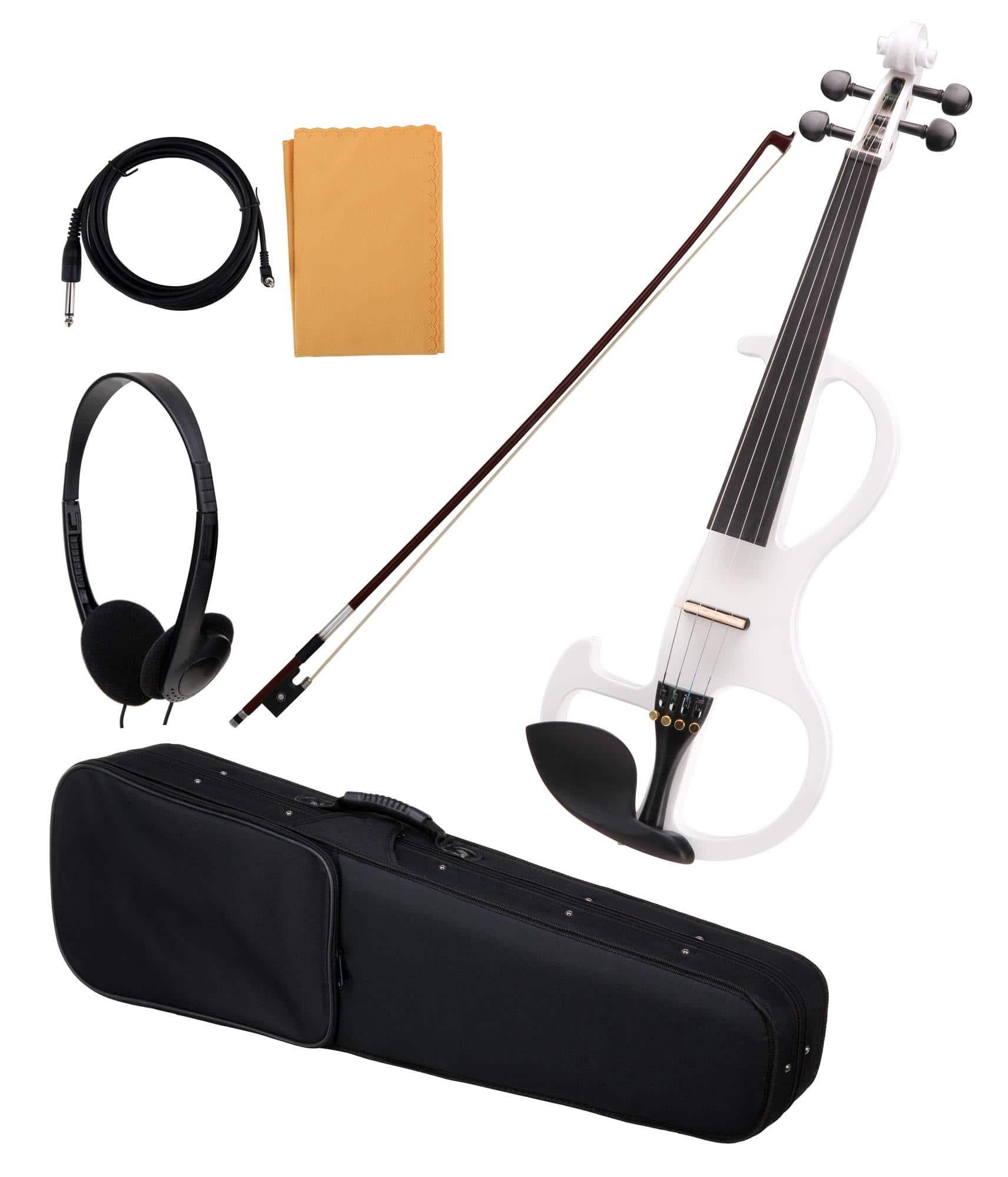 Violinen - Classic Cantabile EV 90WH 4|4 E Violine weiß - Onlineshop Musikhaus Kirstein