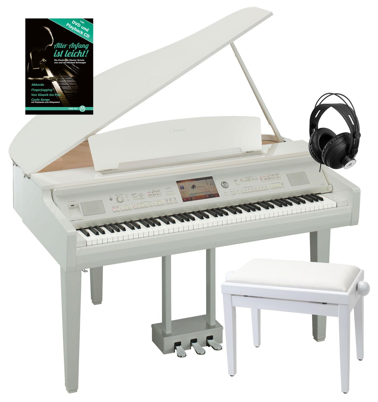 Yamaha cvp 709 gpwh digitalfl gel wh set kirstein music shop for Yamaha cvp 709