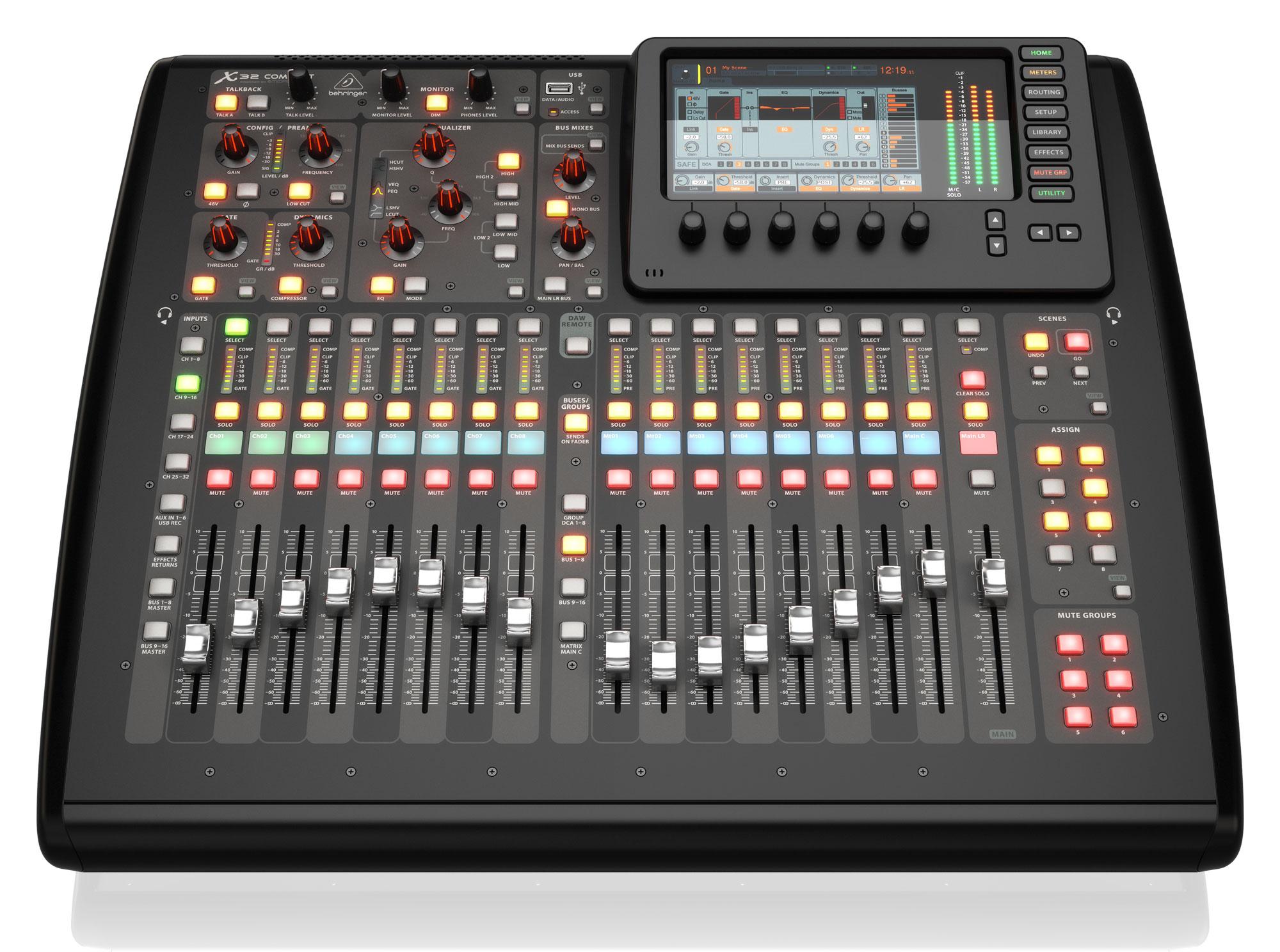 Mischpulte - Behringer X32 Compact Digitalmischpult - Onlineshop Musikhaus Kirstein