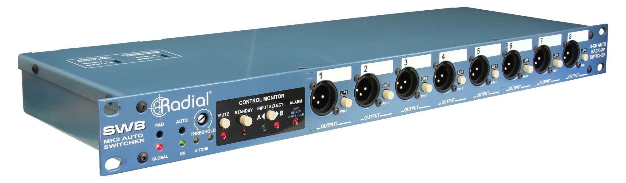 Diboxen - Radial Engineering SW8 - Onlineshop Musikhaus Kirstein