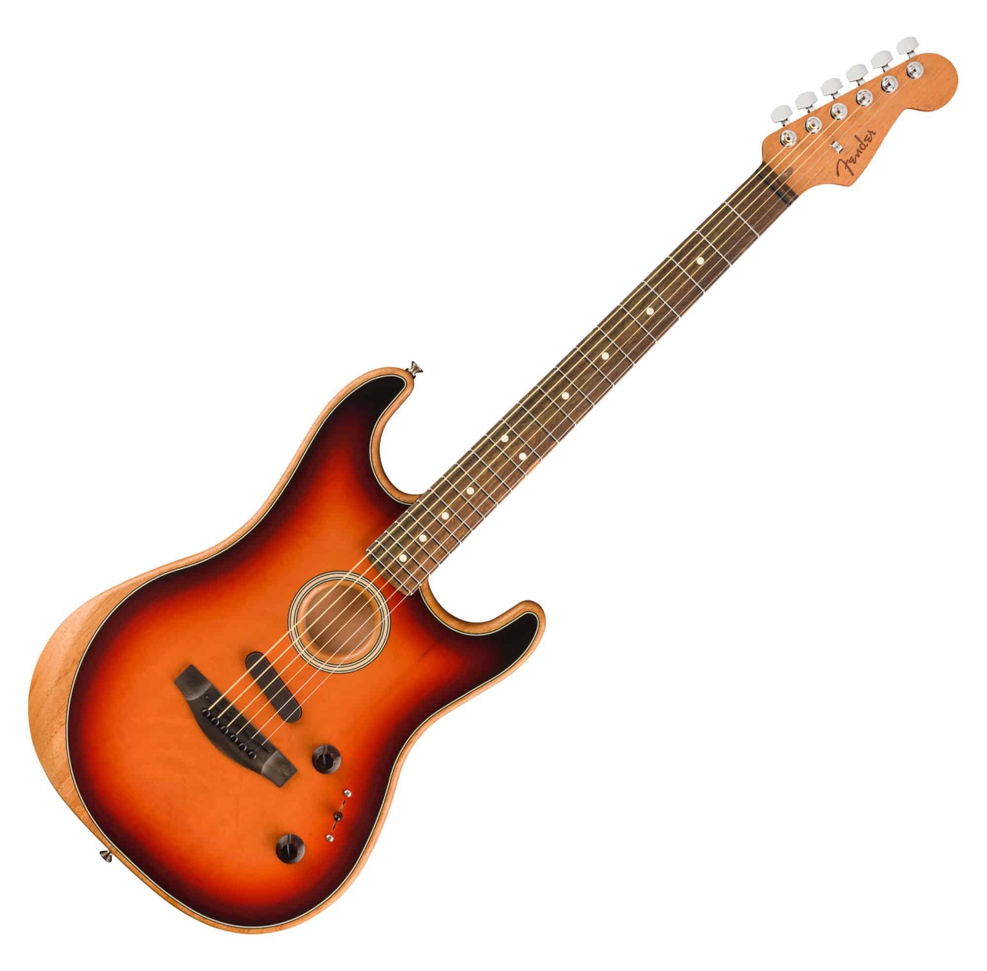 Egitarren - Fender American Acoustasonic Strat 3CS - Onlineshop Musikhaus Kirstein