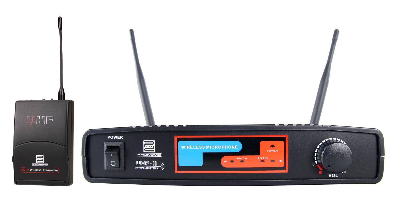 Pronomic UBF 11 Taschensender Funkset K9 827,5 MHz