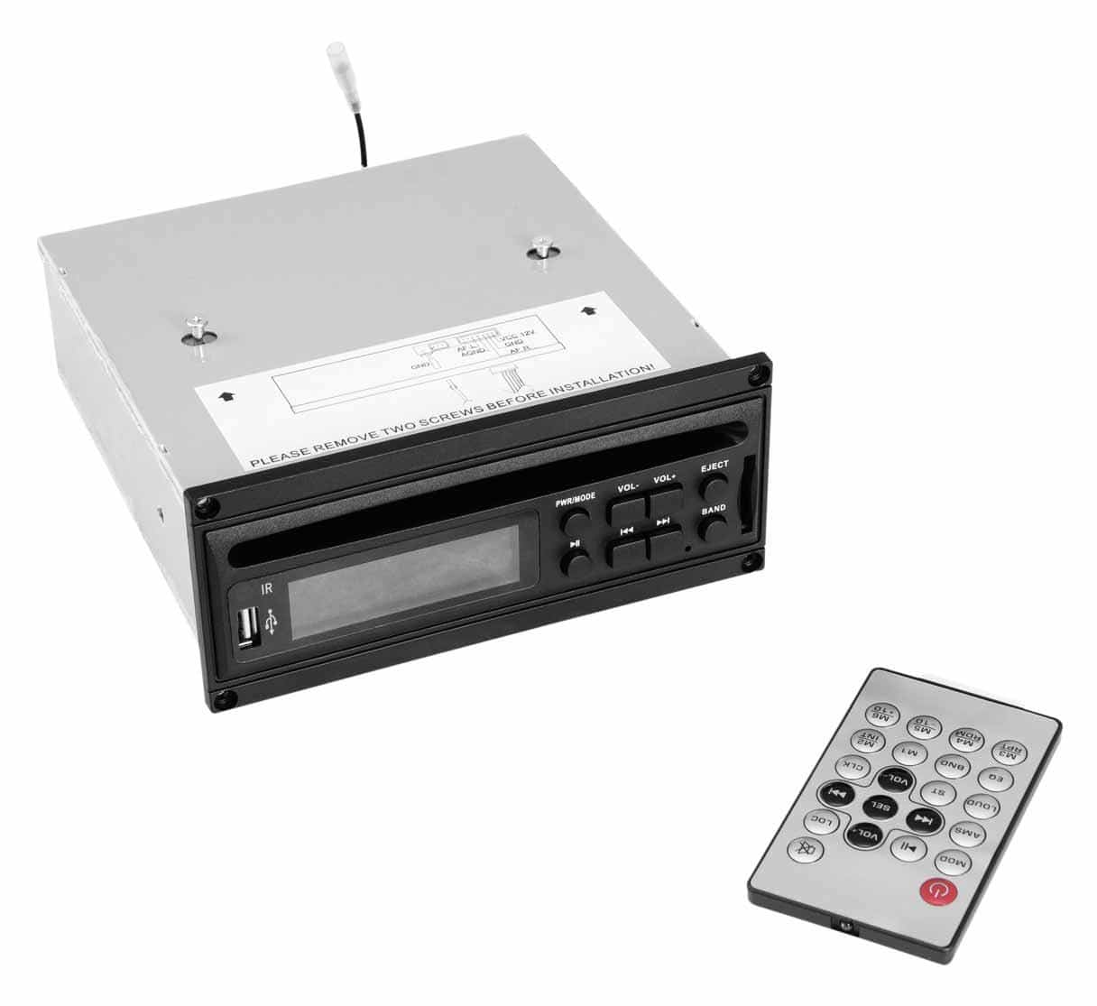 Omnitronic MOM 10BT4 CD Player mit USB SD