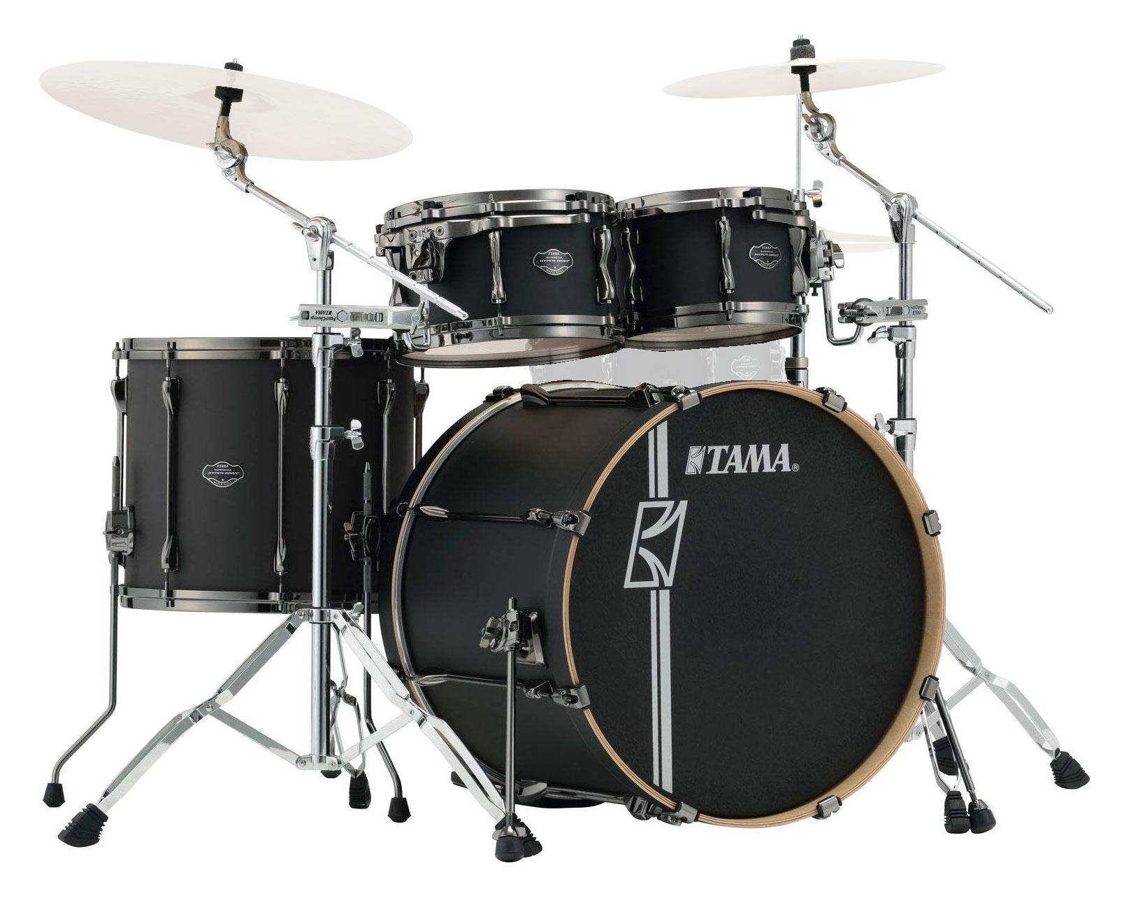 Tama ML42HLZBN FBK Superstar Hyper Drive Maple Drumkit Flat Black