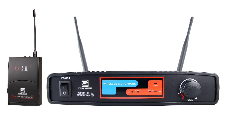 Pronomic UBF 11 Taschensender Funkset K7 863,0 MHz Retoure (Zustand sehr gut)