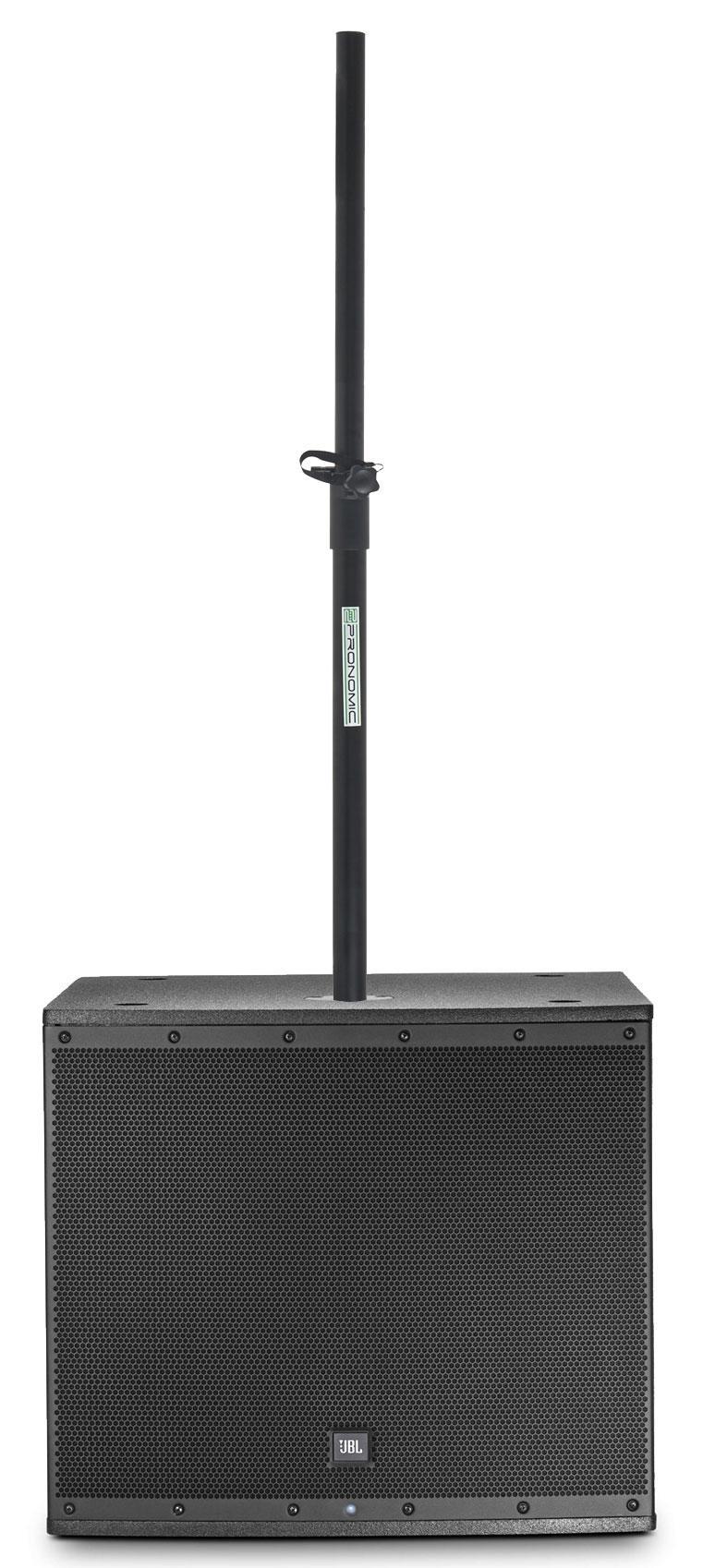Paboxen - JBL EON618S Set mit Distanzstange - Onlineshop Musikhaus Kirstein