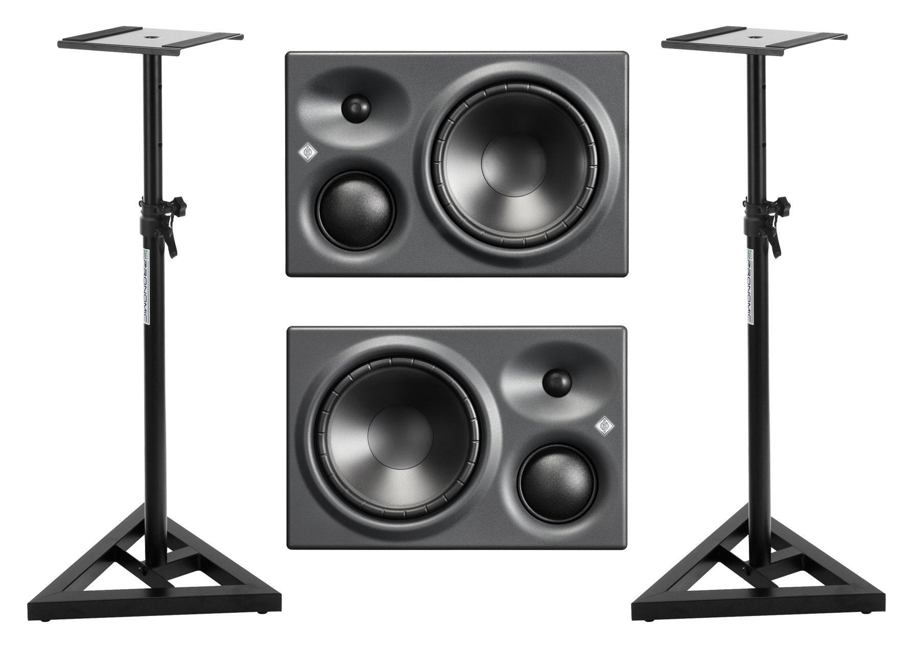 Studiomonitore - Neumann KH 310 A Studiomonitor R|L Stativ Set - Onlineshop Musikhaus Kirstein