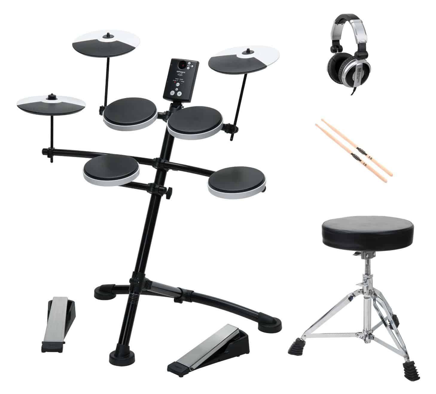 Roland TD 1K Drumkit SET inkl. Hocker, Sticks und Kopfhörer