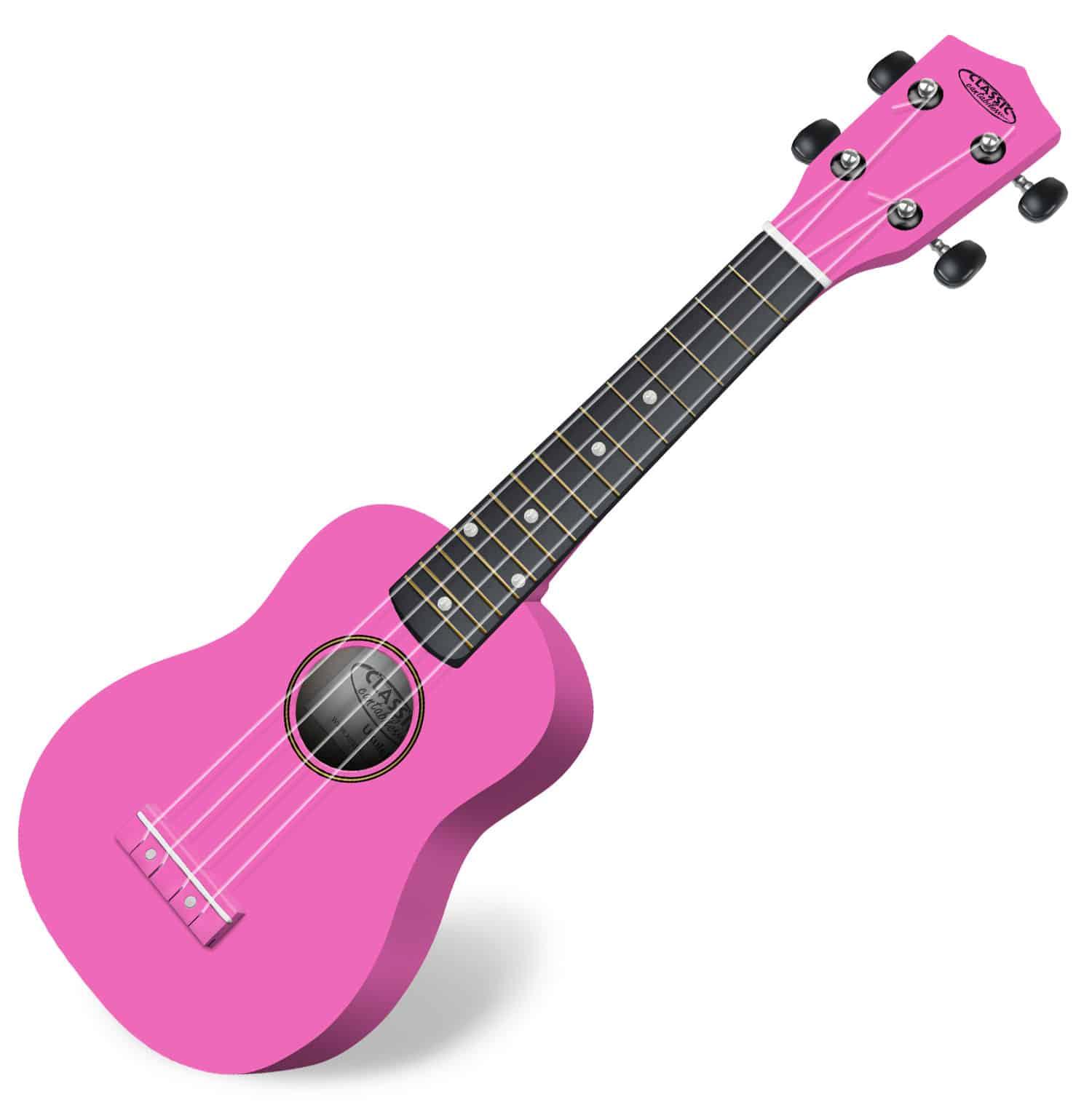 Classic Cantabile US 100 PK Sopran Ukulele Pink
