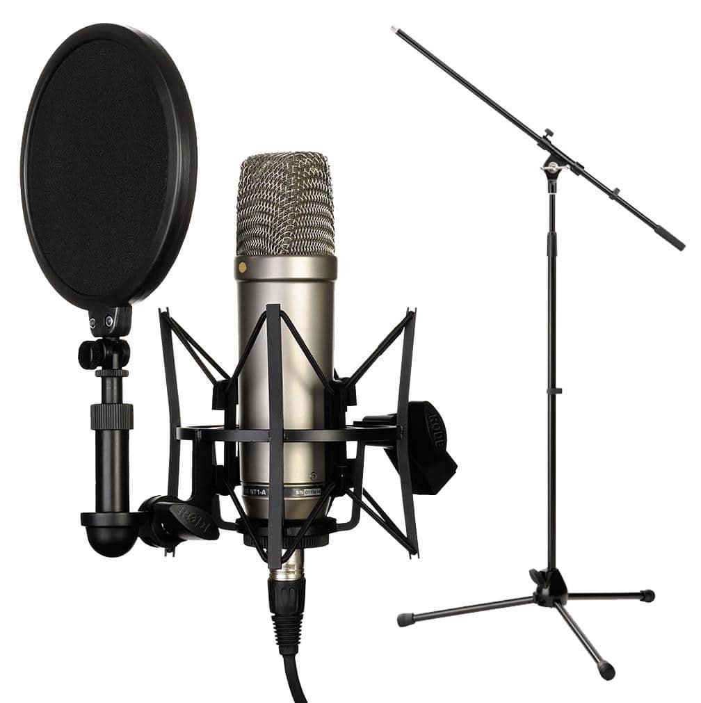 RODE NT1 A Complete Vocal Recording SET inkl. Stativ
