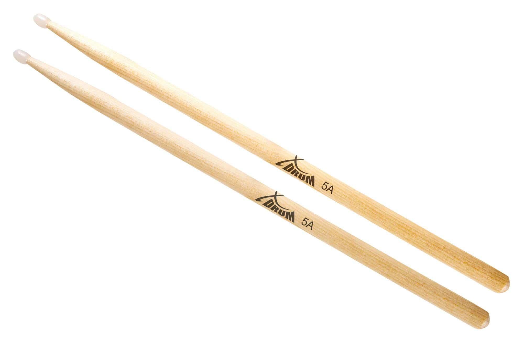 XDrum Schlagzeug Sticks 5A Nylon Tip