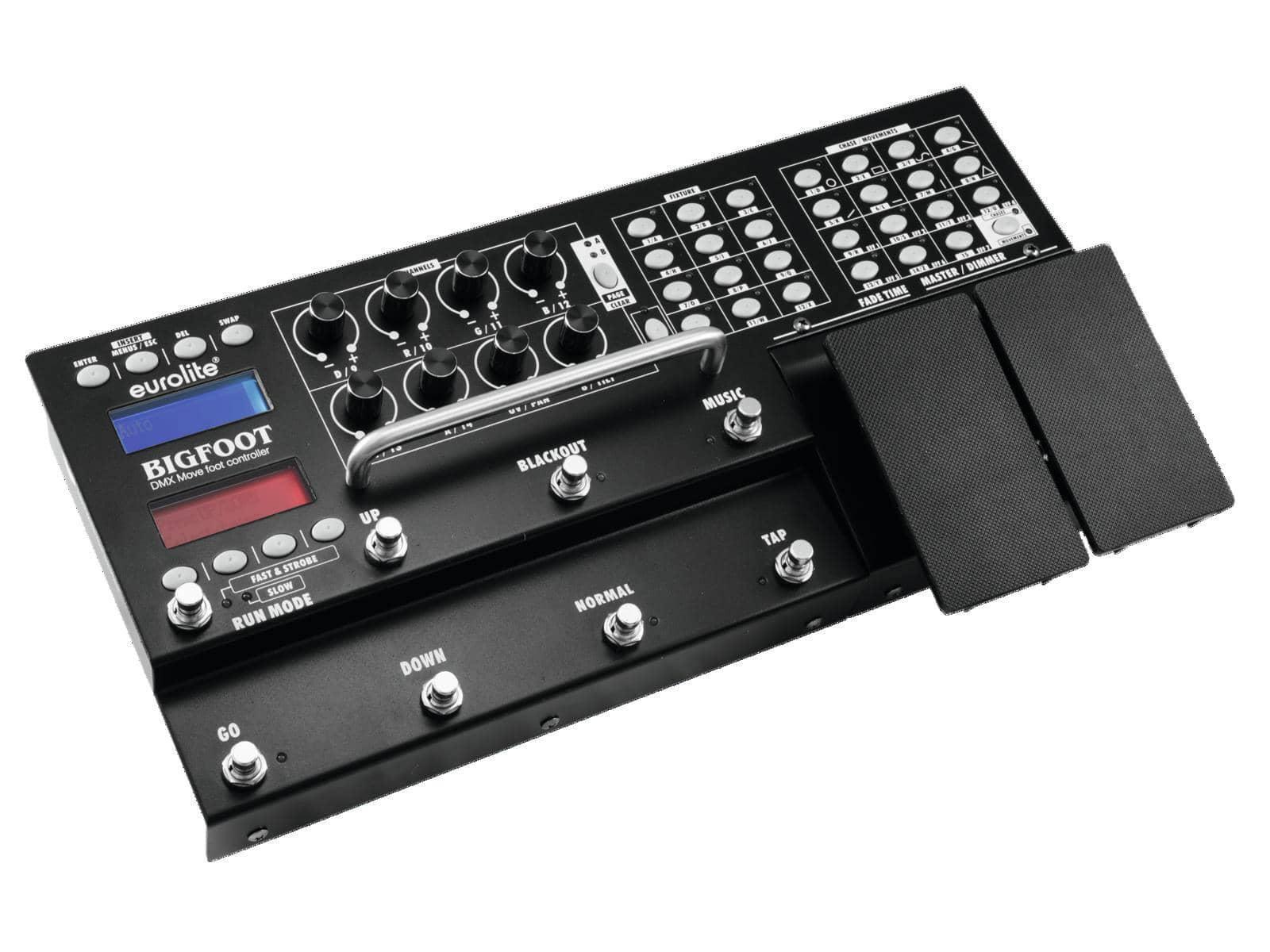 Lichtsteuerung - Eurolite DMX Controller Move Bigfoot 192 - Onlineshop Musikhaus Kirstein