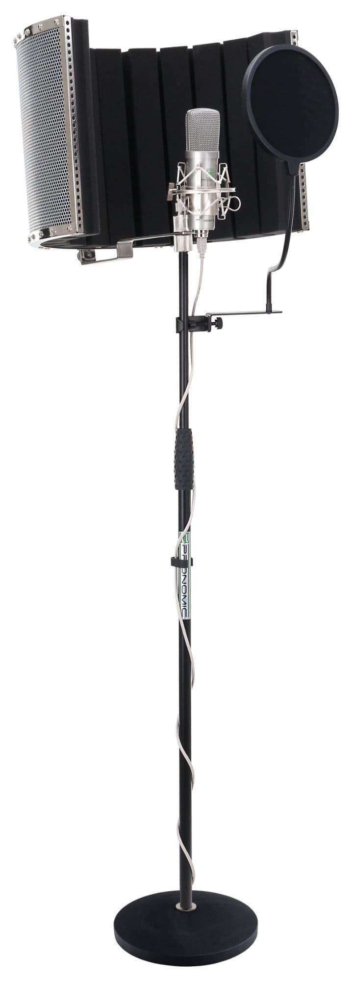 Mikrofone - Pronomic USB M 910 Kondensator Mikrofon Komplettset inkl. Stativ, Popschutz Micscreen - Onlineshop Musikhaus Kirstein