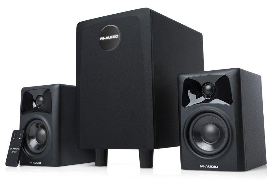 Paendstufen - M Audio AV32.1 Lautsprechersystem Retoure (Zustand sehr gut) - Onlineshop Musikhaus Kirstein