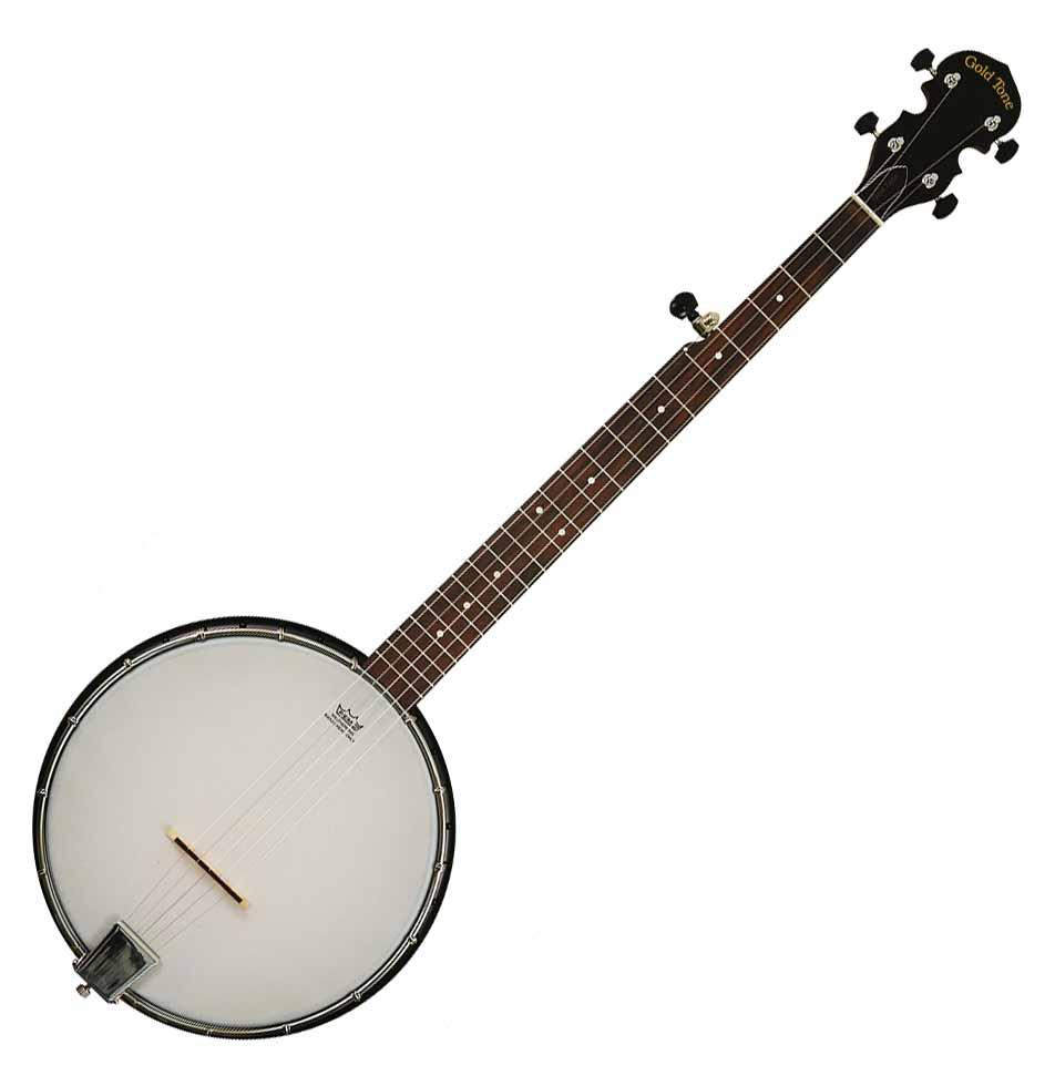 Gold Tone AC 1 Acoustic Composite 5 String Openback Banjo