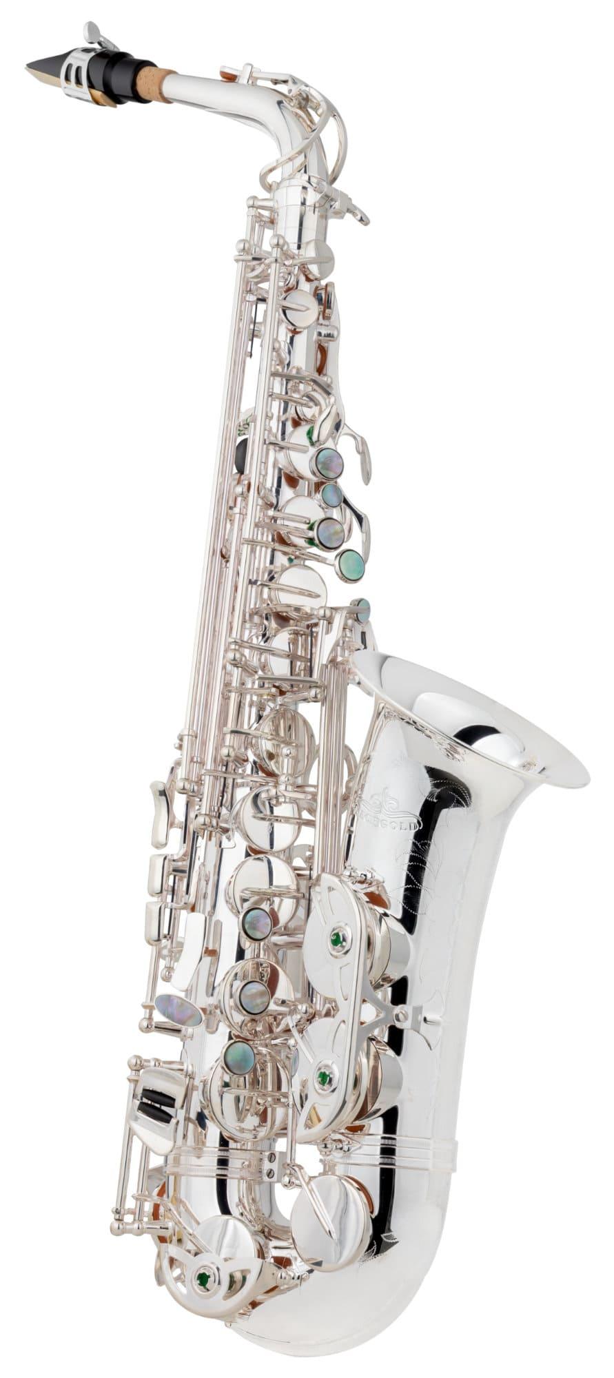 Saxophone - Lechgold LAS 20S Alt Saxophon versilbert - Onlineshop Musikhaus Kirstein