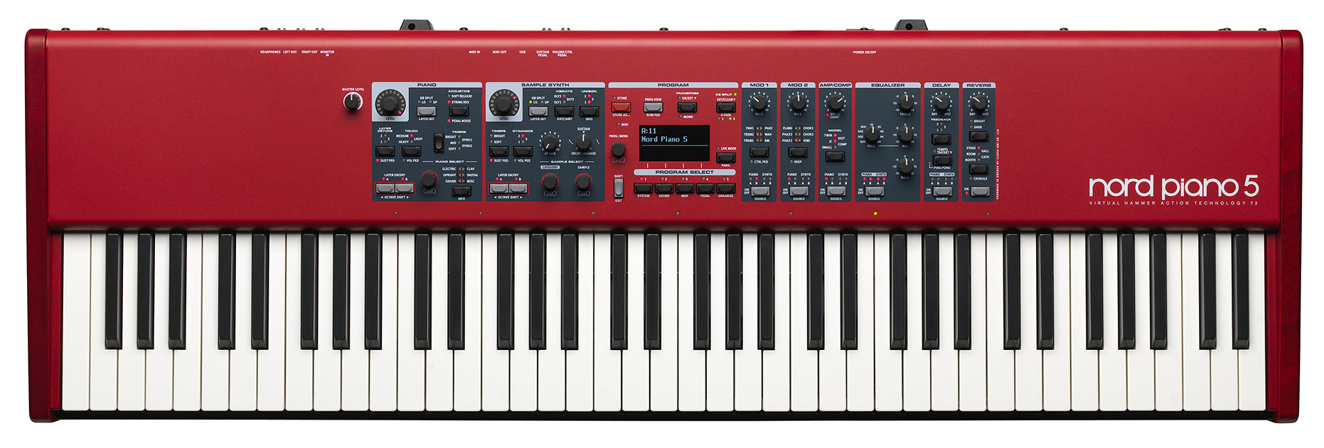Stagepianos - Clavia Nord Piano 5 73 Stagepiano - Onlineshop Musikhaus Kirstein