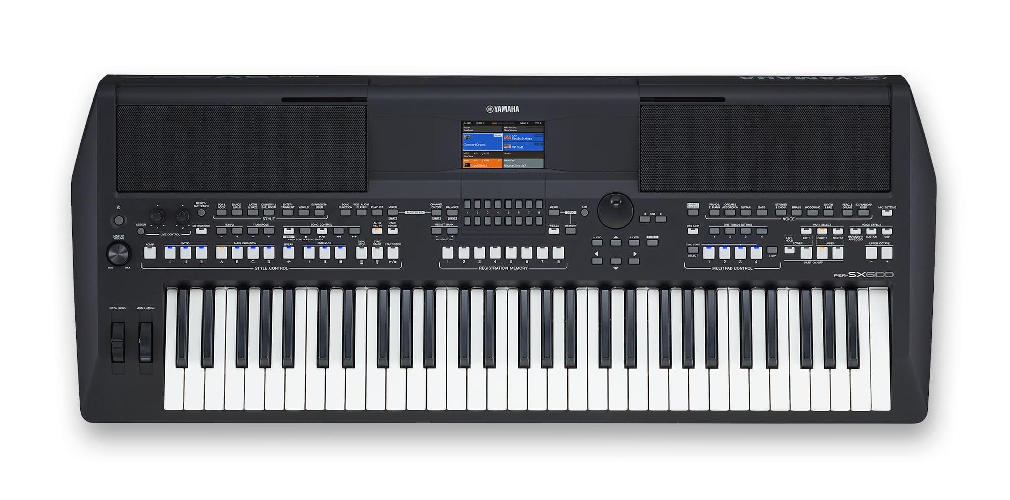 Homekeyboards - Yamaha PSR SX600 - Onlineshop Musikhaus Kirstein