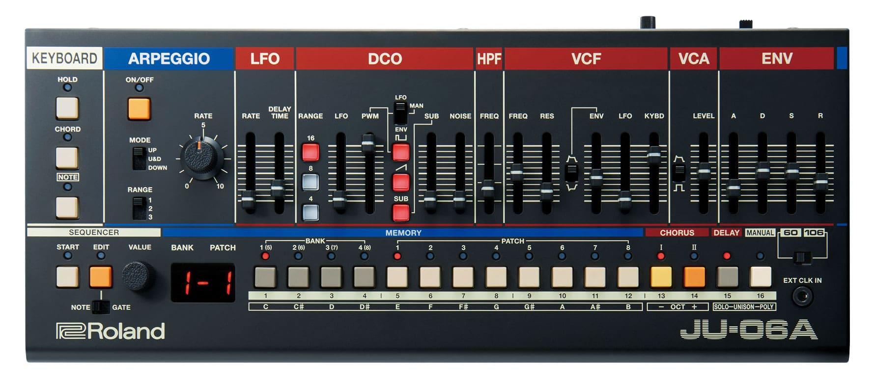 Roland JU-06A Boutique Synthesizer Modul