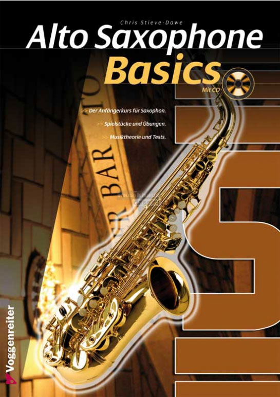 Alto Saxophone Basics CD