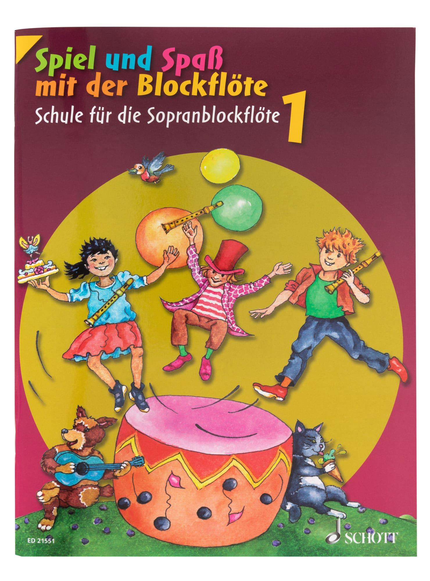 Floetelernen - Spiel und Spaß mit der Blockflöte I - Onlineshop Musikhaus Kirstein