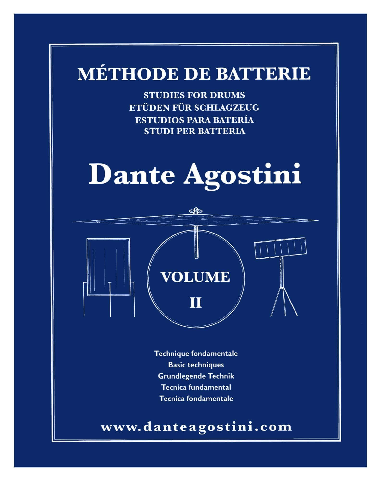 Drumslernen - Dante Agostini Méthode de Batterie Volume II - Onlineshop Musikhaus Kirstein