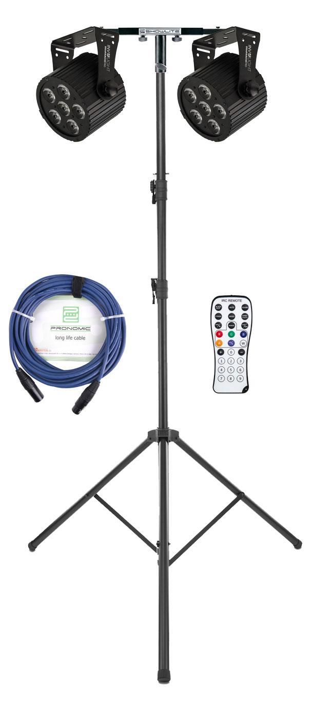 Lichtsets - Involight 612 PRO Silent LED Spot Dual Set - Onlineshop Musikhaus Kirstein