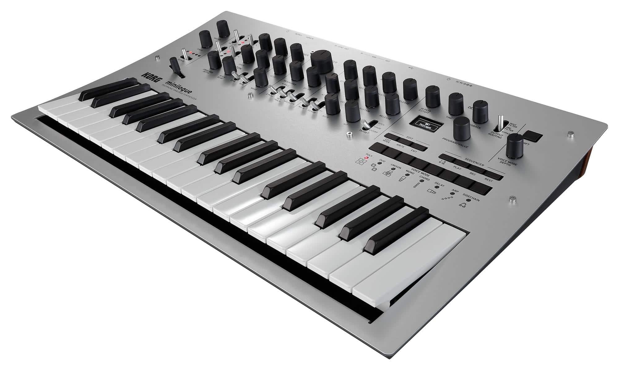 Synthesizer - Korg minilogue - Onlineshop Musikhaus Kirstein