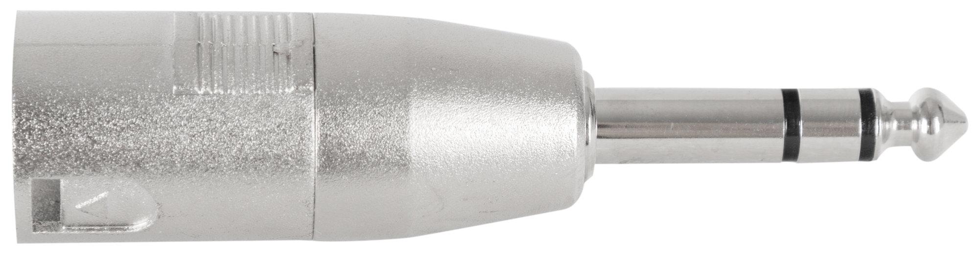 Kabelmulticores - Pronomic AD JSXM Adapter 6,3mm Stereo Klinke male | XLR male - Onlineshop Musikhaus Kirstein