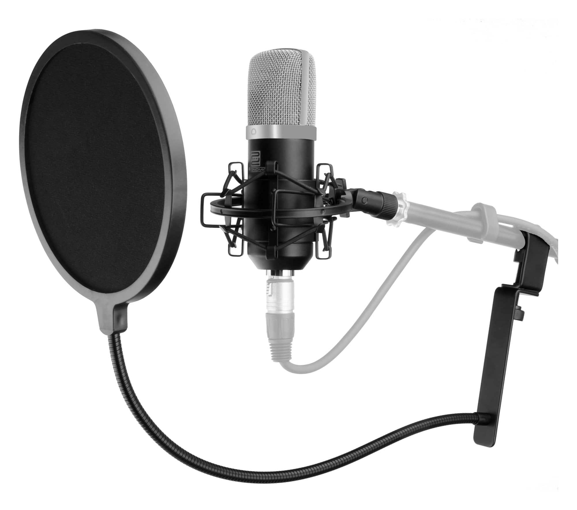 Mikrofone - Pronomic CM 22 Großmembranmikrofon Set inkl. Popschutz - Onlineshop Musikhaus Kirstein