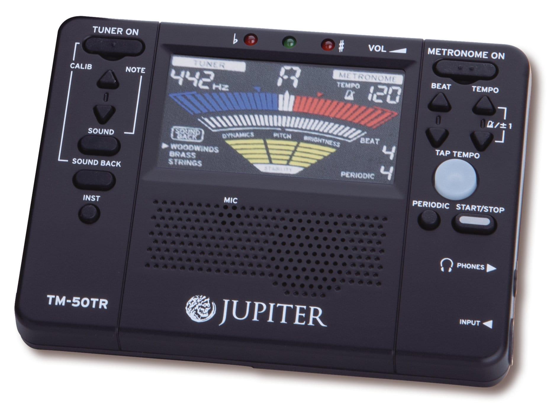 Musikerzubehoer - Jupiter TM 50TR Metronom|Stimmgerät und Ton Trainer - Onlineshop Musikhaus Kirstein