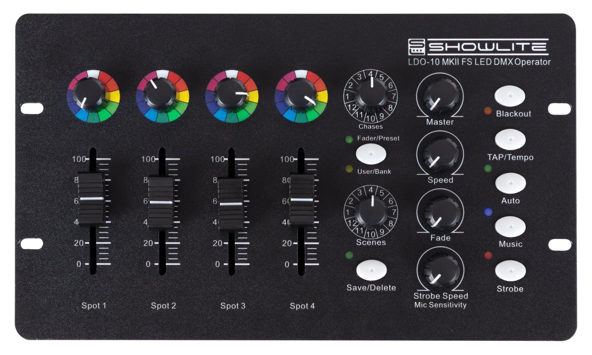 Lichtsteuerung - Showlite LDO 10 MKII FS LED DMX Operator - Onlineshop Musikhaus Kirstein