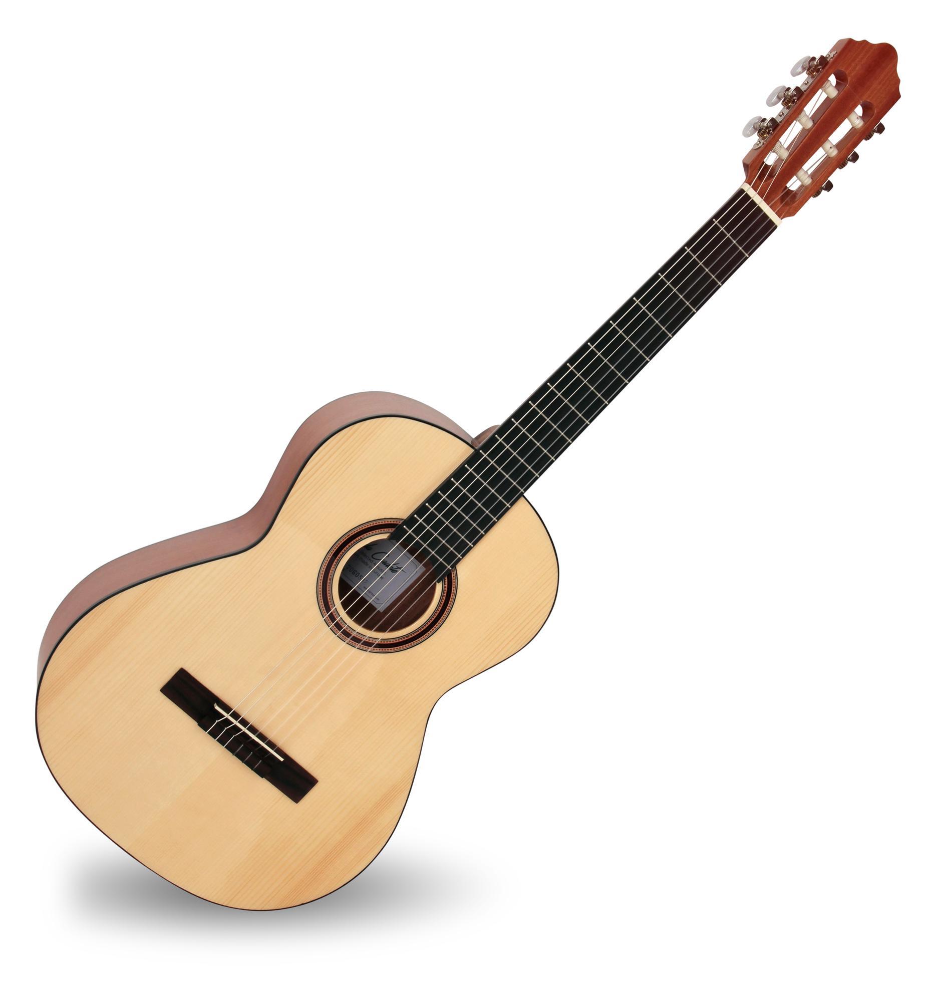 Calida Cadete Konzertgitarre 7 8 Fichte Hochglanz Made in Portugal