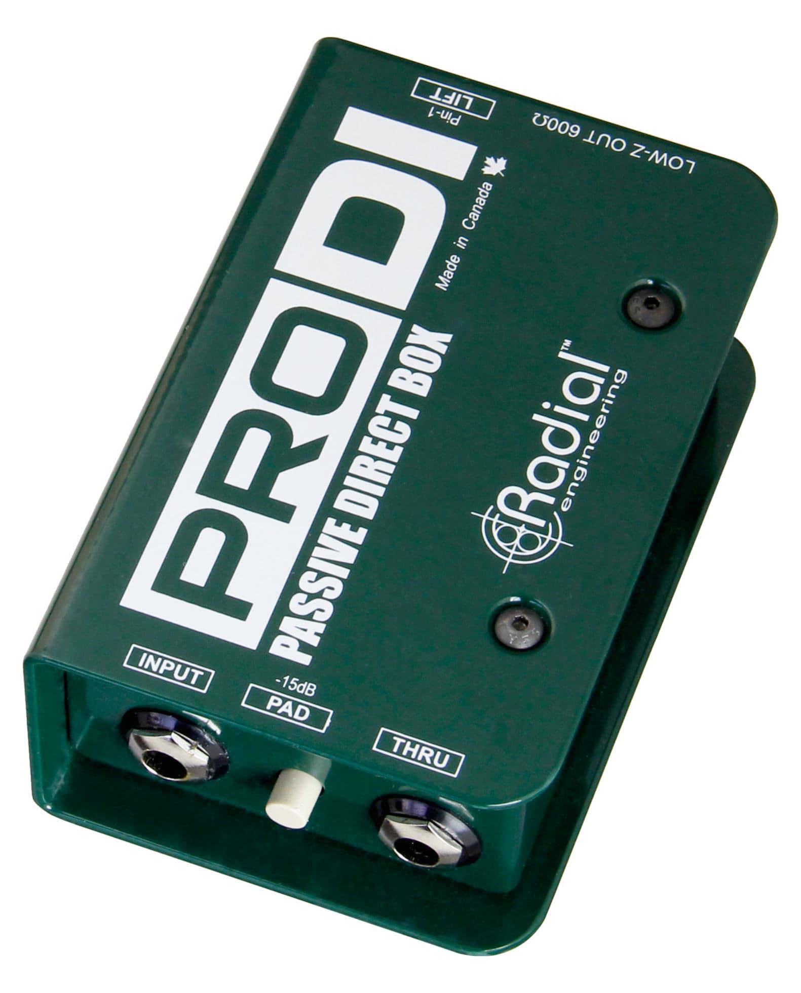 Diboxen - Radial Engineering ProDI - Onlineshop Musikhaus Kirstein